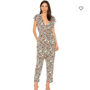 NWT FP Ruffle Your Feathers Floral Jumpsuit